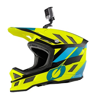 O'Neal 2019 Blade helmet, with GoPro