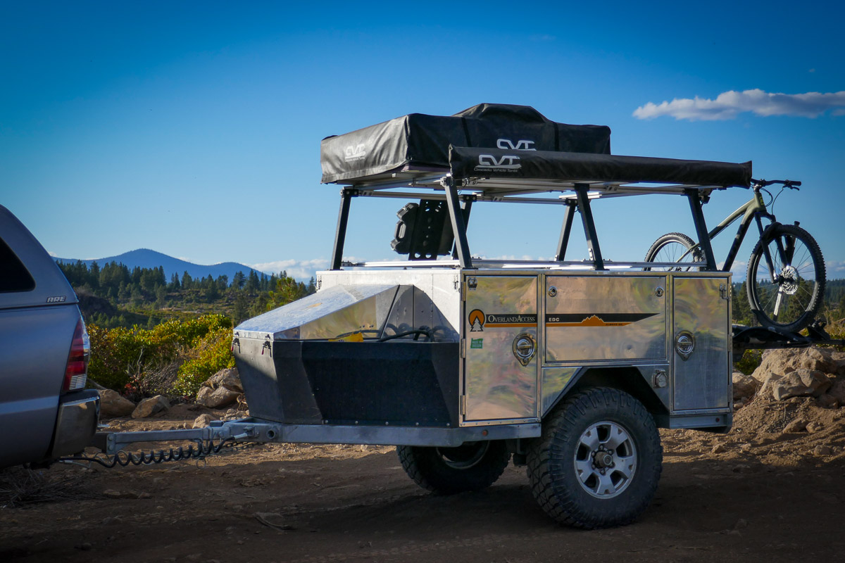 #Vanlife: The Overland Access EDC might be the ultimate adventure camping trailer