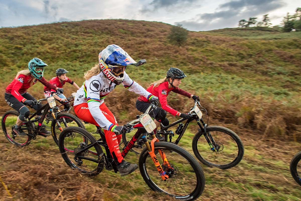 Rachel Atherton Red Bull Fox Hunt 2018 hounds Trek Remedy downhill mtb
