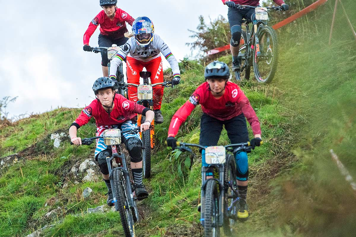 Rachel Atherton Red Bull Fox Hunt 2018