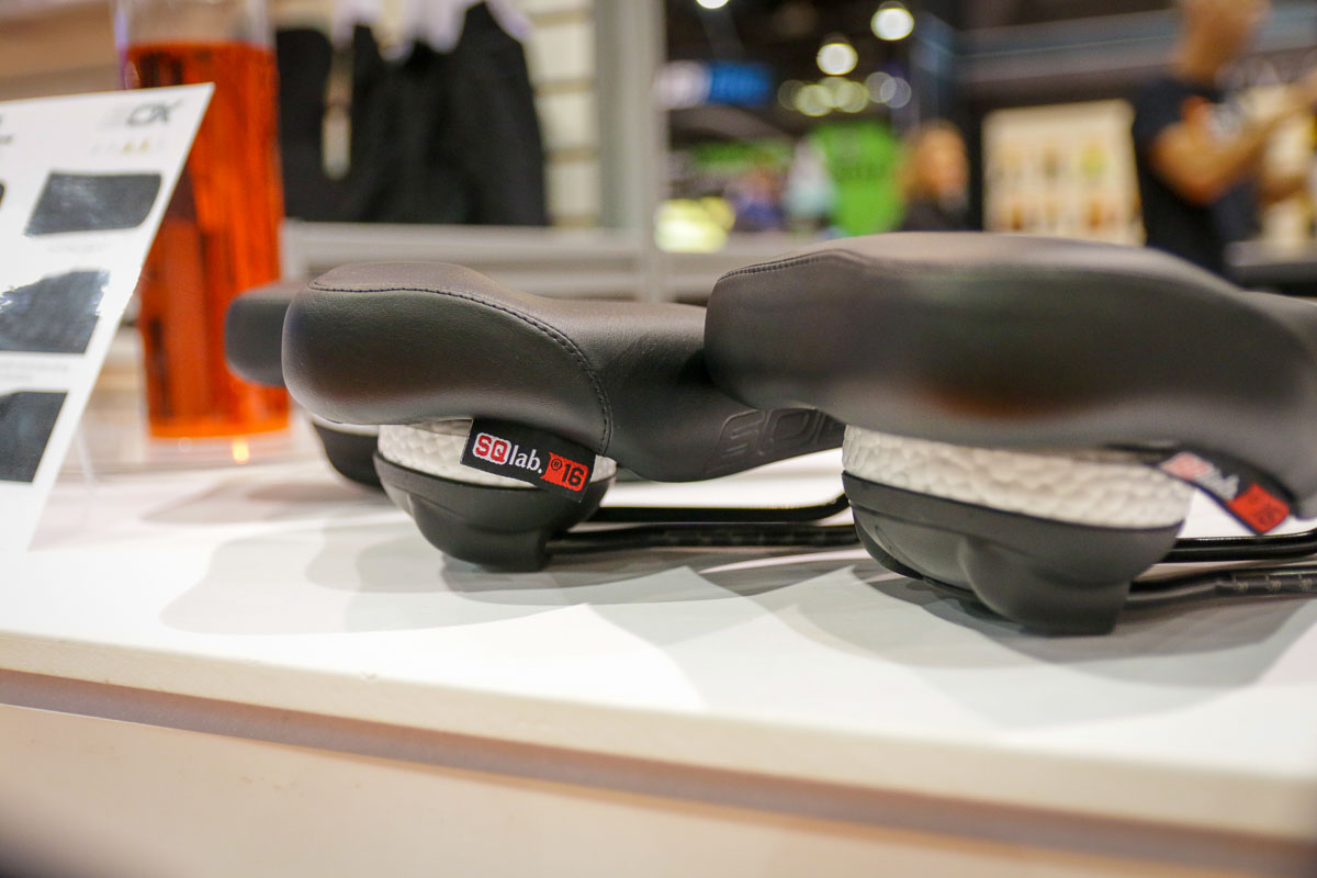 SQlab flexes w/ new 311 FL-X bars, moves with comfy 602 Infinergy saddle