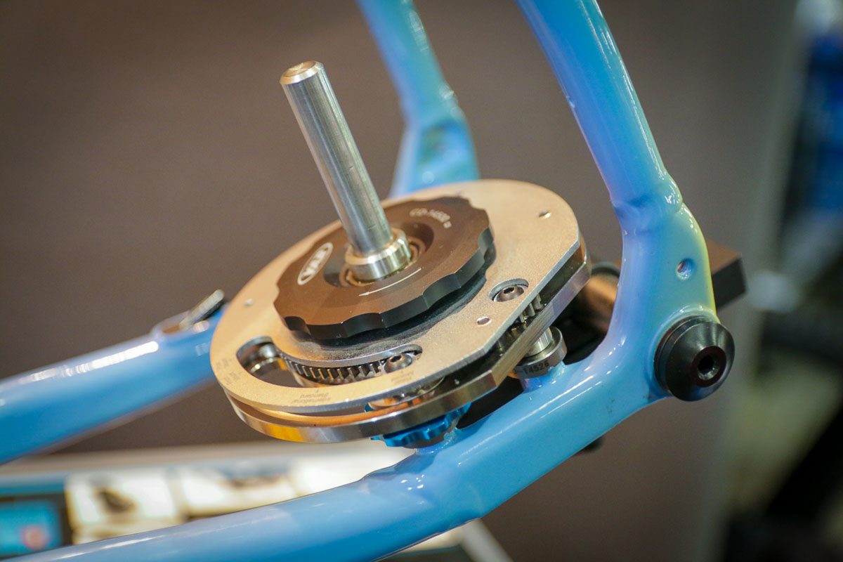 The new Disc Brake Mount Facing tool from VAR could lead to braking