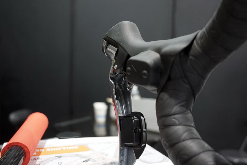 X-Shifter wireless remote shifting for Shimano and SRAM 1x road mountain gravel and cyclocross bike groups