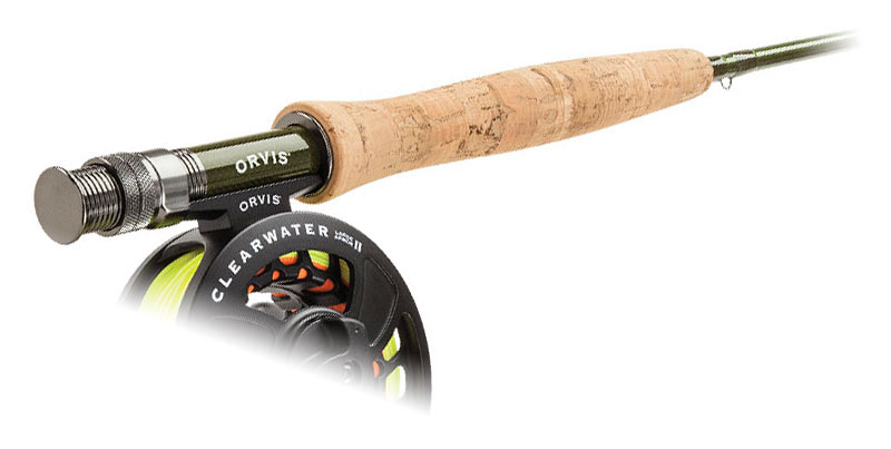 orvis frequent flyer fly rod breaks down into seven pieces for easier travel on a gravel bike fat bike or mountain bike