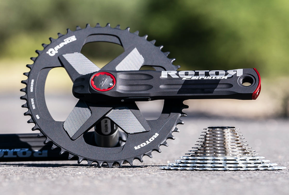 rotor oval q-rings in 1x direct mount designs