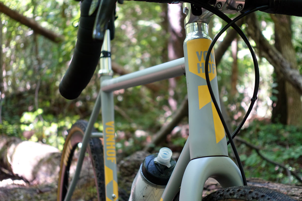 von Hof acx cyclocross bike review and tech details