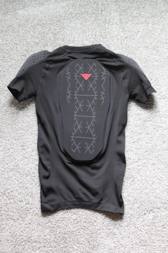 Dainese Trailknit Pro Armor Tee, back
