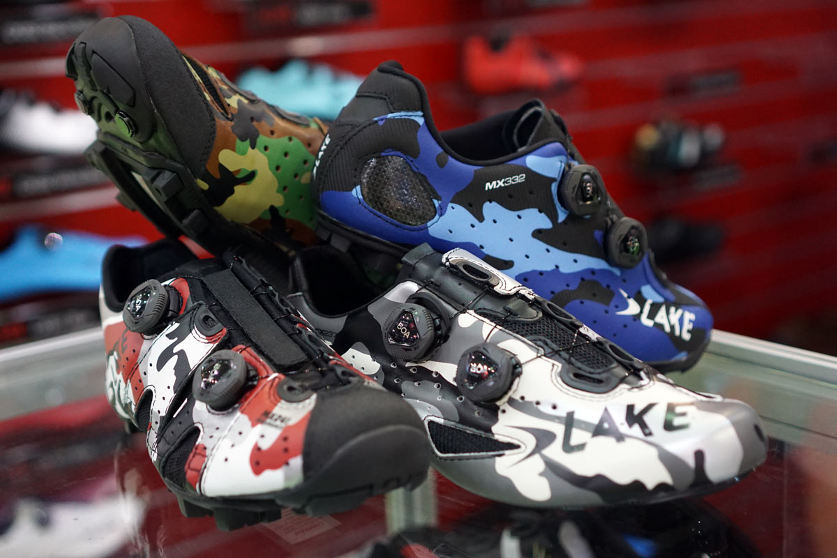 Lake Cycling Shoes urban camouflage in multiple colors
