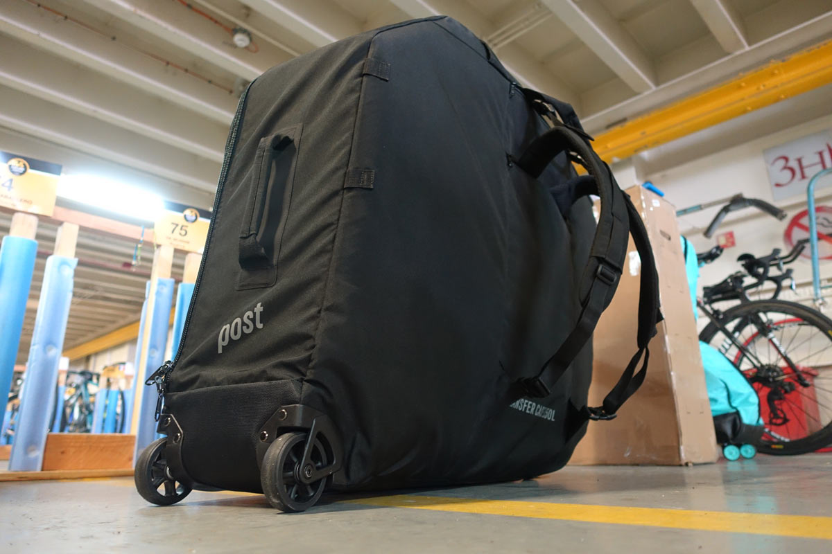 Post Carry bicycle case lets you travel with a full size bike on a plane without paying oversize baggage fees