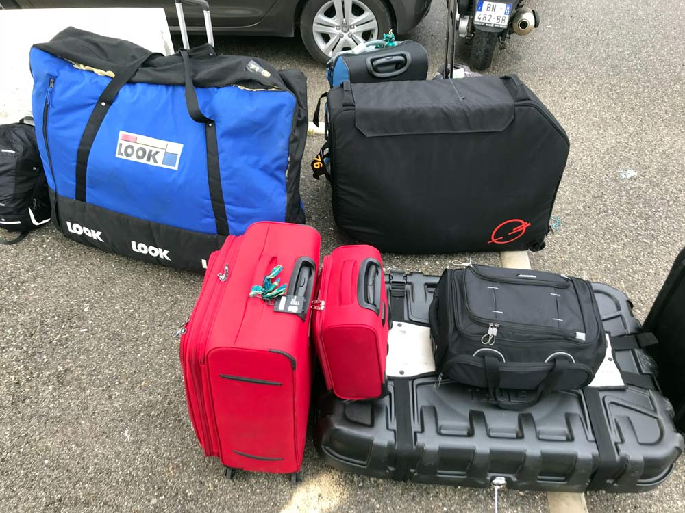 Post Carry bike case is small enough to fit in a trunk and avoids airline baggage fees