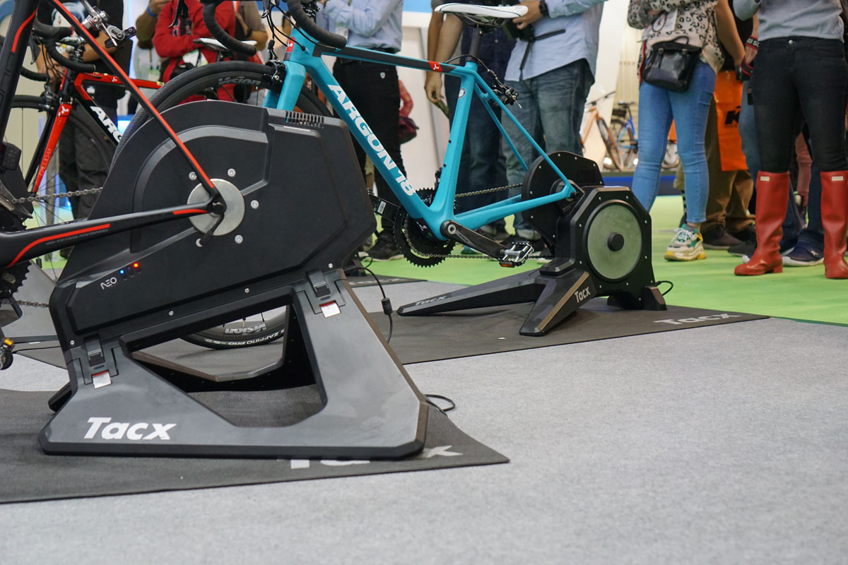 Tacx Neo 2 Smart Trainer adds pedal stroke analysis