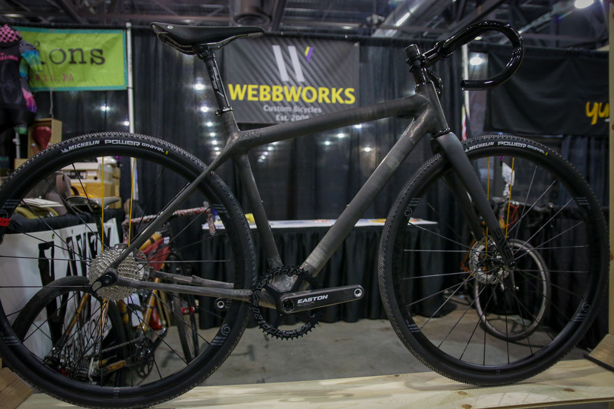 9bf01912f30 WebbWorks expands from bamboo into full carbon bikes, Spare packs the  essentials