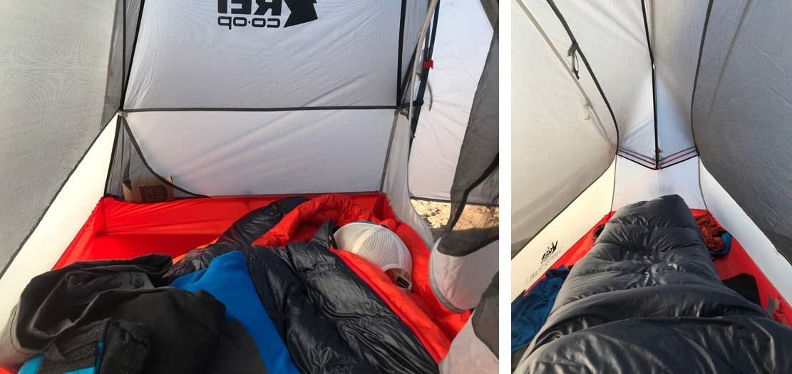 REI Quarterdome 1 ultralight solo bikepacking and hiking tent review