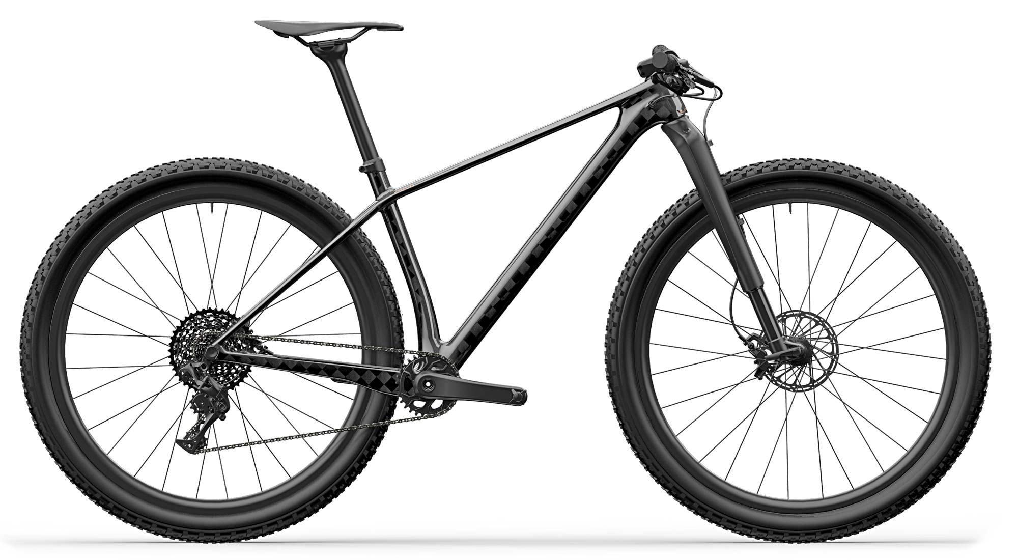 UNNO Aora ultra light carbon XC hardtail mountain bike World's Lightest XC hardtail mountain bike frame