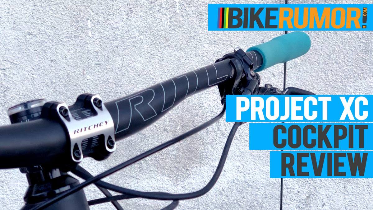 project xc race bike cockpit parts review from ritchey logic ESI grips KS suspension LEV dropper seatpost and Syncros FL saddle