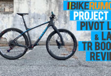 Pivot LES mountain bike hardtail review and Lauf TR Boost leaf spring suspension fork review