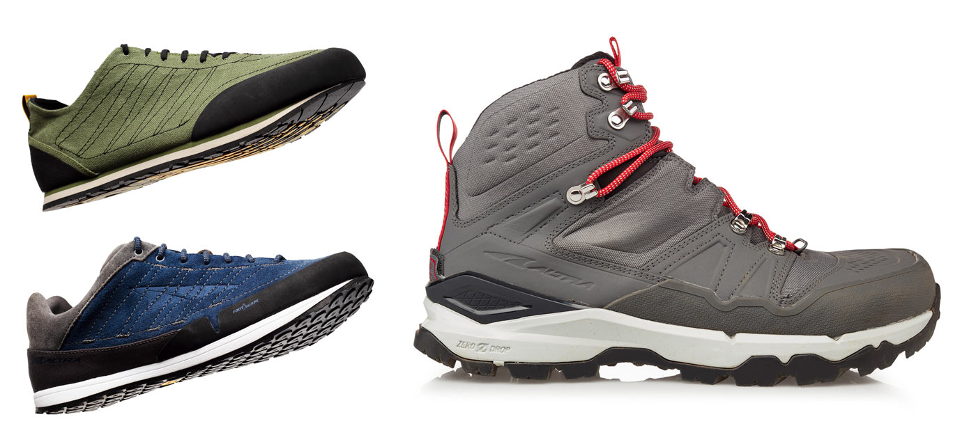 2019 Altra hiking and approach shoes