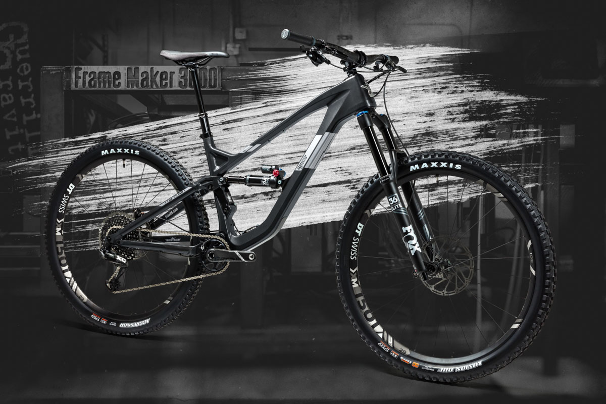 Guerrilla Gravity gets Revved Up for U.S. made carbon with 4 bikes in 1 frame