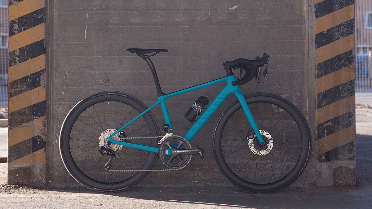 Canyon 650b womens road bike