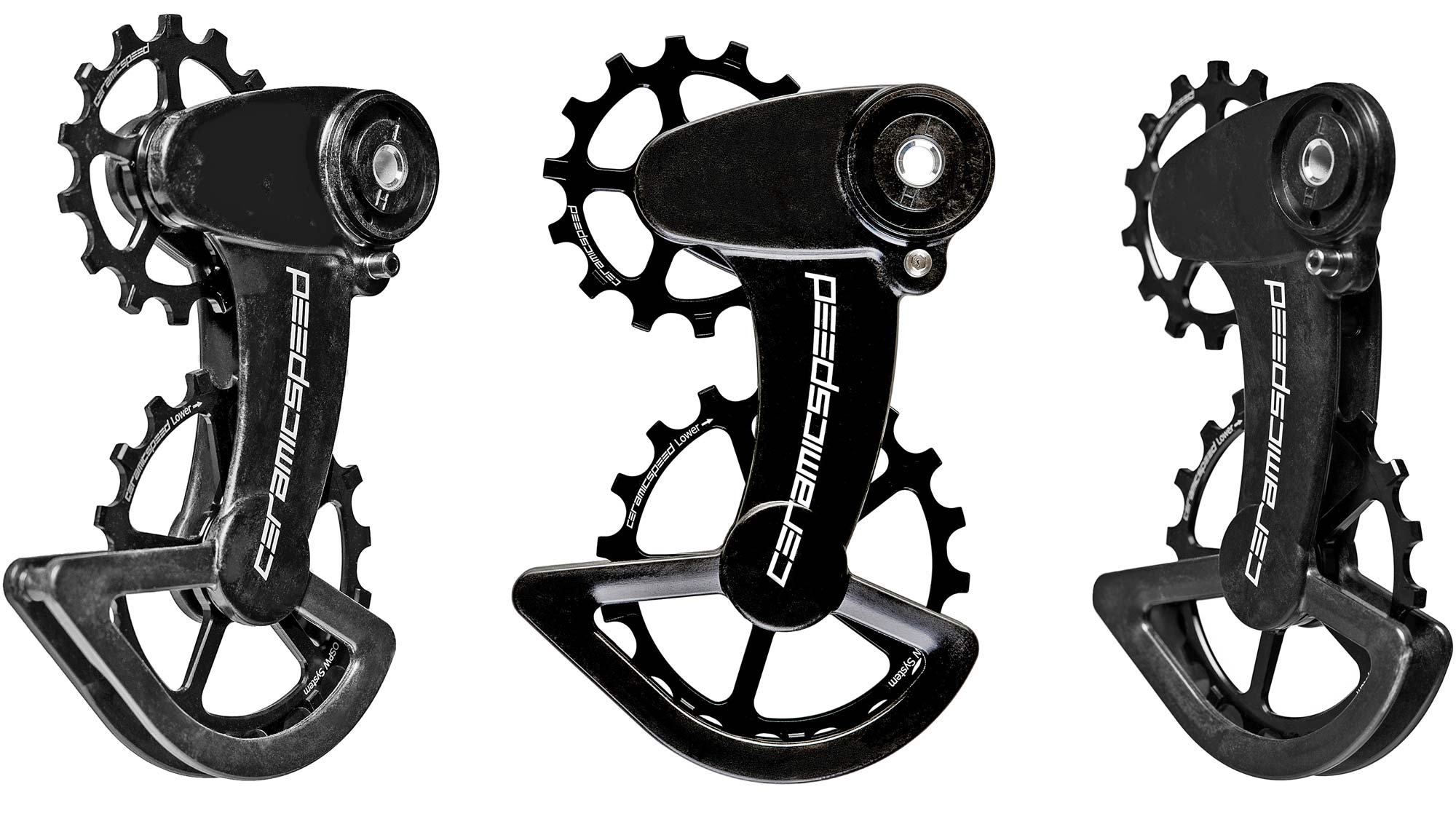 CeramicSpeed OSPW X oversized pulley wheel system CX cross cyclocross & gravel road bikes SRAM Rival Force ceramic bearings