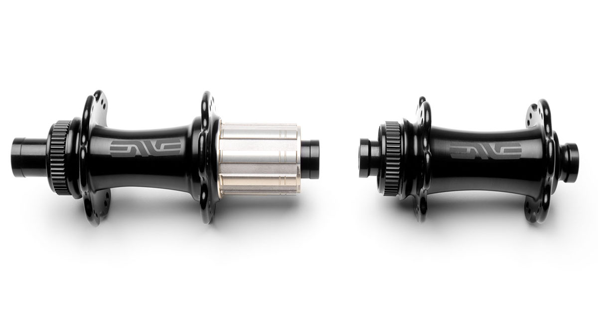 ENVE alloy disc brake hub set thru axle black 2019