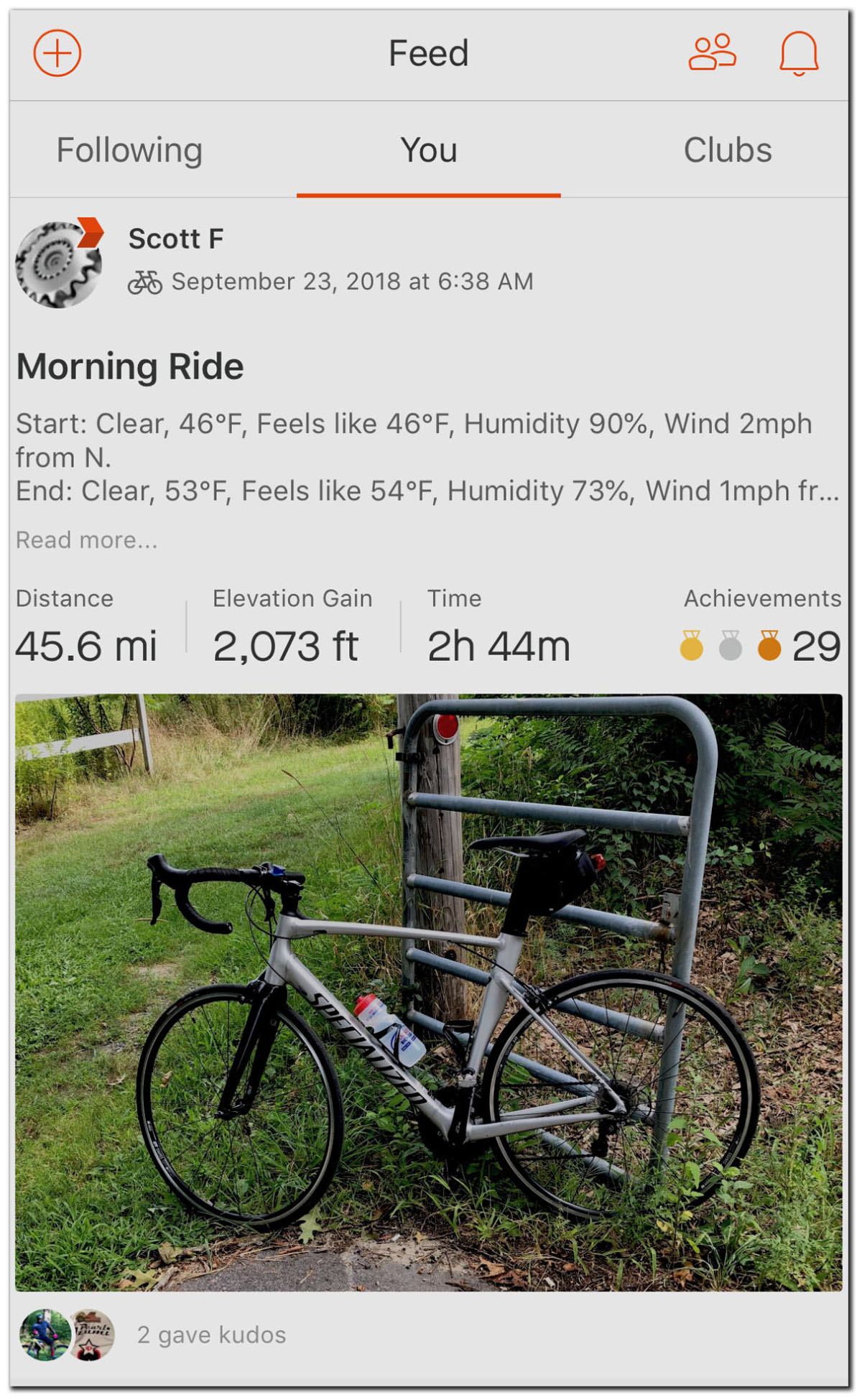 How's the weather? Klimat app bundles ride conditions into your Strava feed