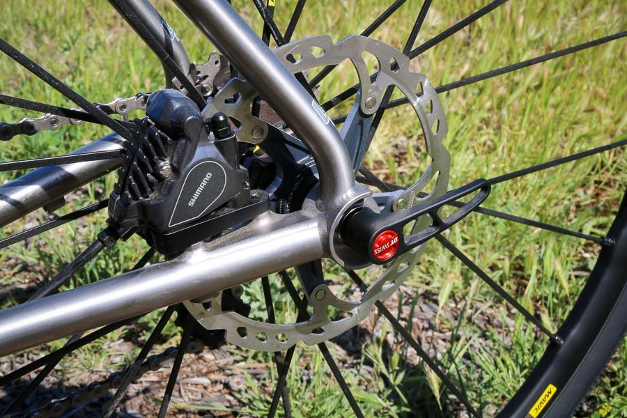 Litespeed flat mount disc brake rear