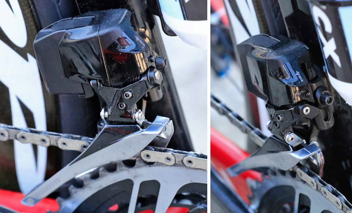SRAM Red eTap wireless 12 speed front derailleur