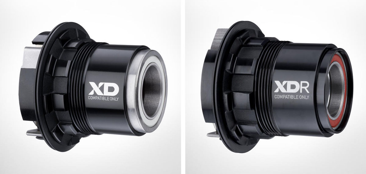 SRAM XD vs XDR freehub driver body