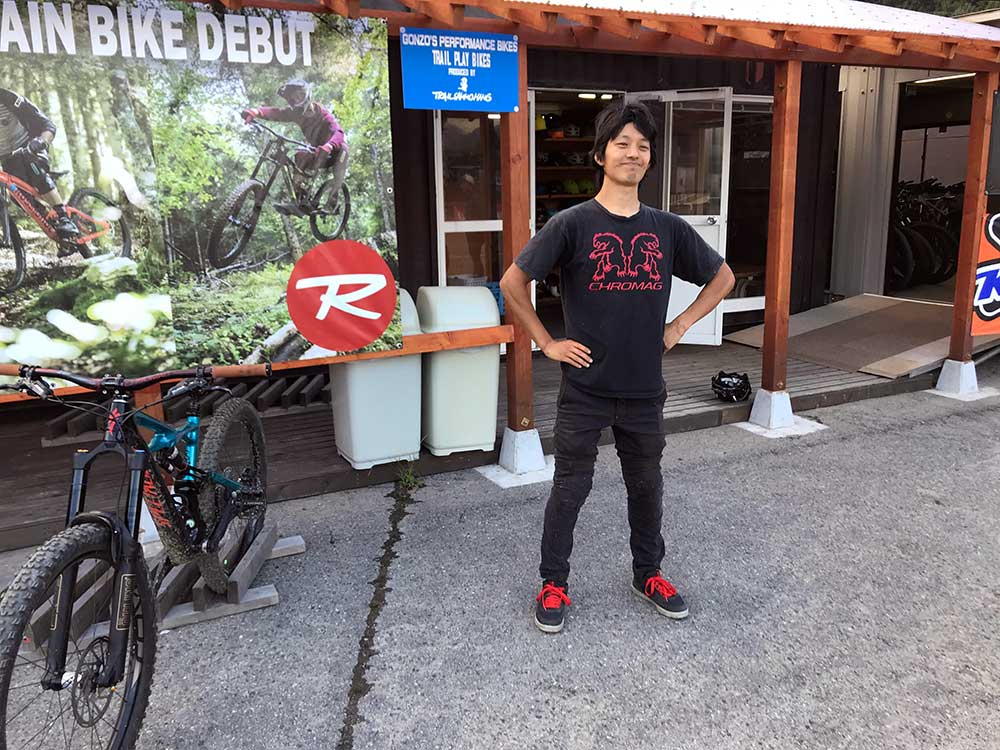 where to rent mountain bikes at hakuba iwatake bike park in hakuba valley nagano japan