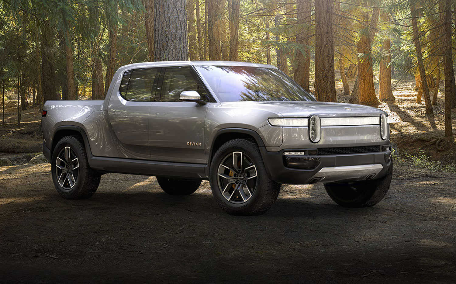 Rivian S Full Electric Pickup Truck Suv Get You To The Trail Back With Zero Emissions