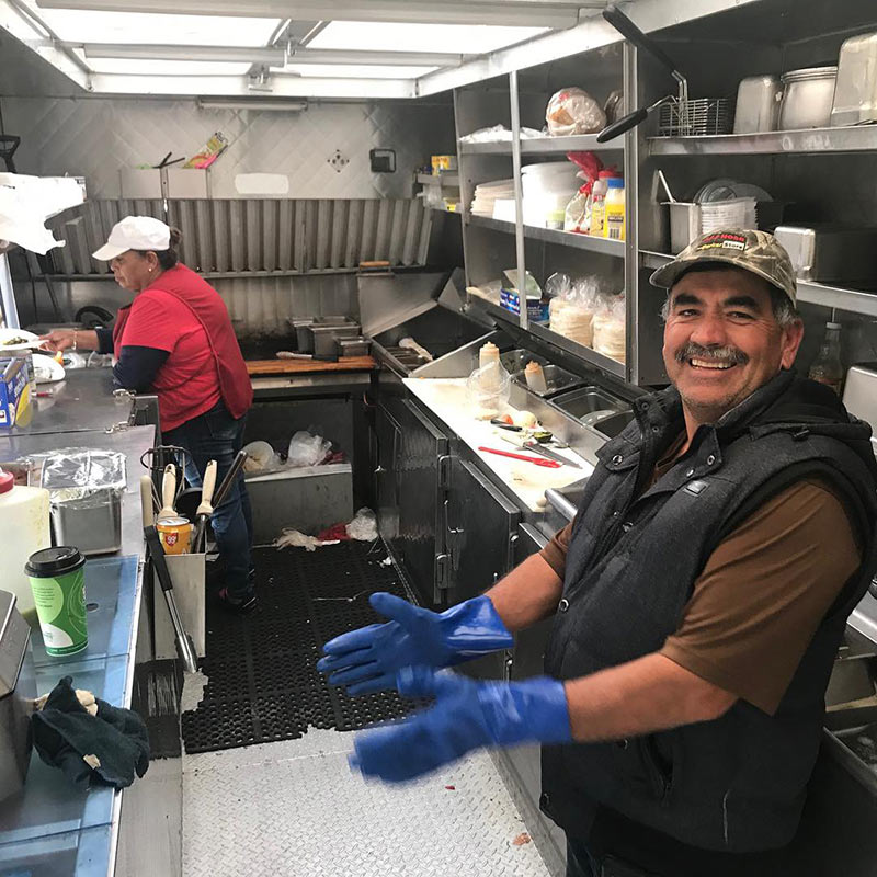 best taco truck in Nevada is Tacos Colima outside of Las Vegas on the way to Utah