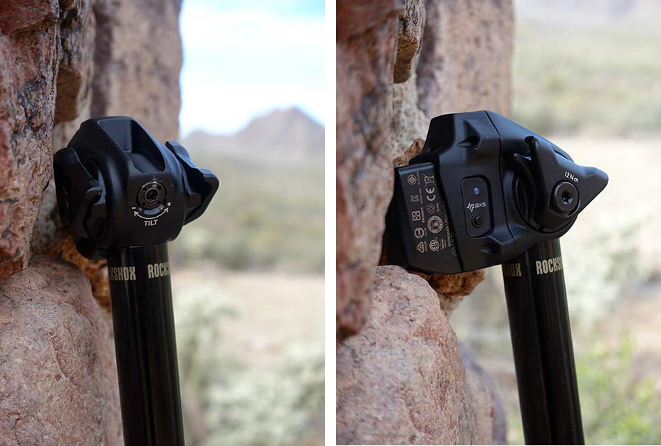 tech details for the new rockshox reverb axs wireless dropper seatpost