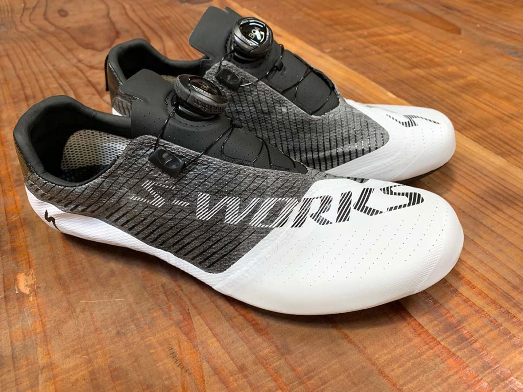 2019 Specialized EXOS ultralight road bike shoes are as light as 99g