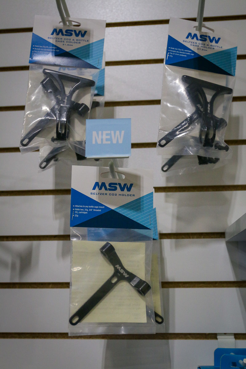 Pop it & Lock it with the new MSW one-size-fits-all rear wheel stand, more