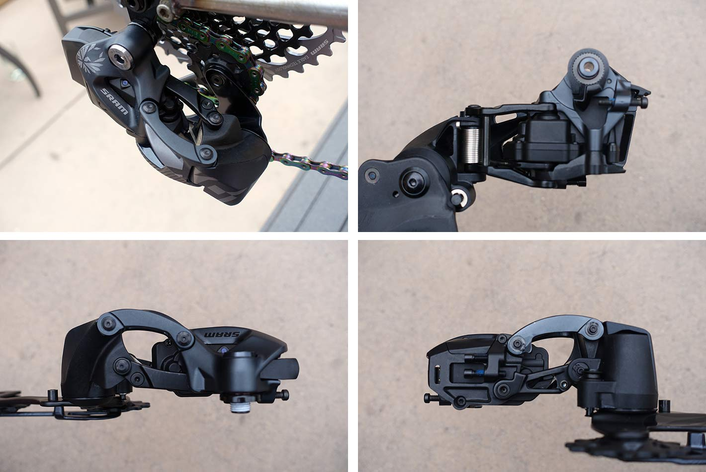 how does the sram eagle etap axs wireless mountain bike shifter and derailleur work