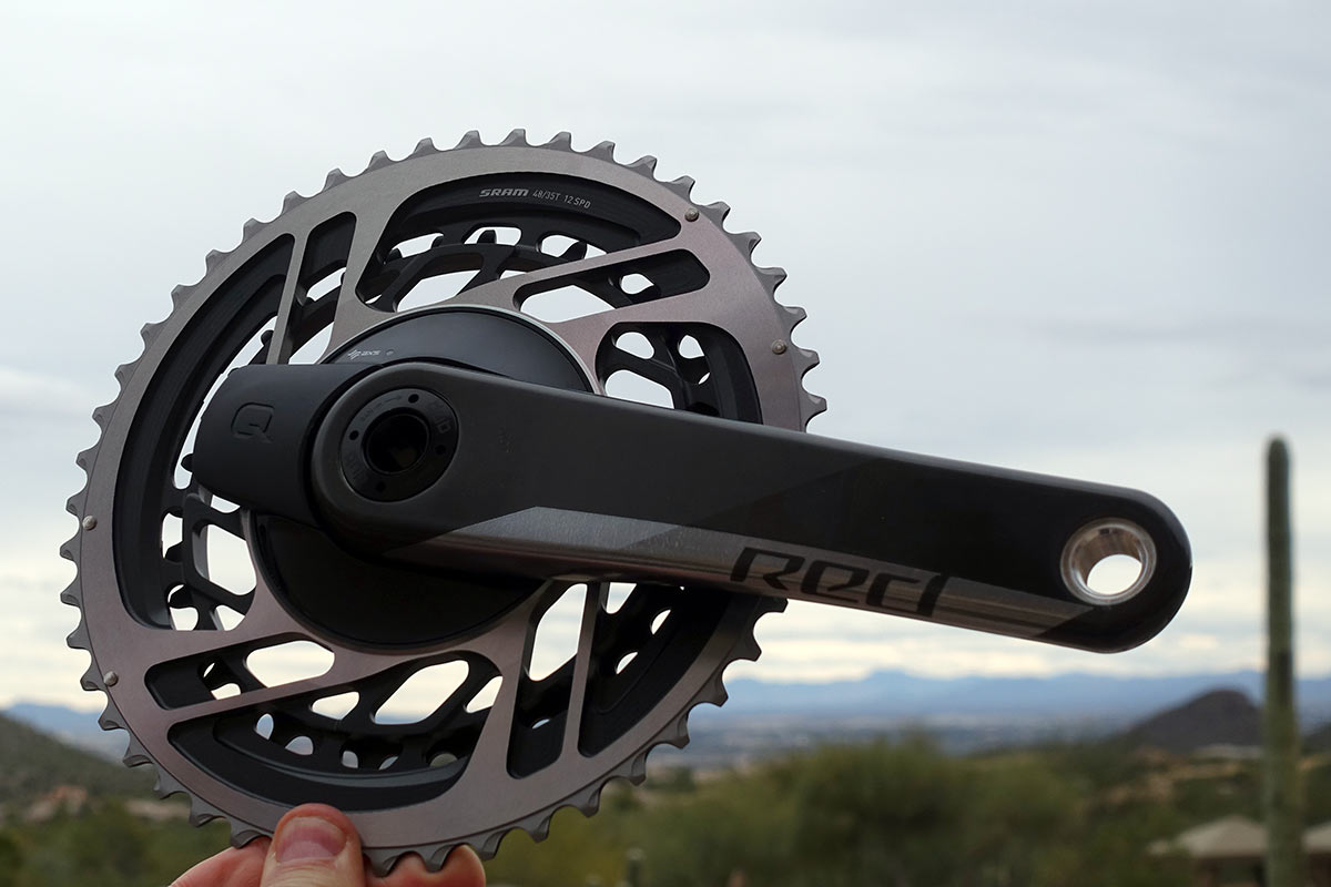 why did SRAM change the chainring sizes and gear combinations on their new RED 12 speed road bike group