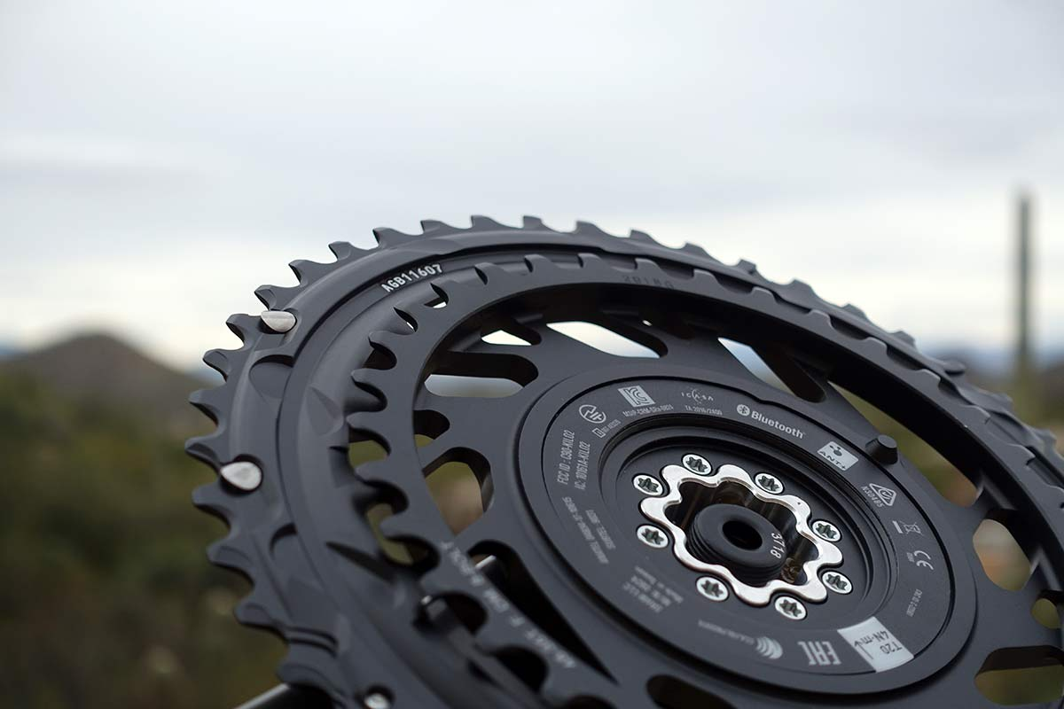 what are the new chainring sizes for SRAM 12 speed cranksets