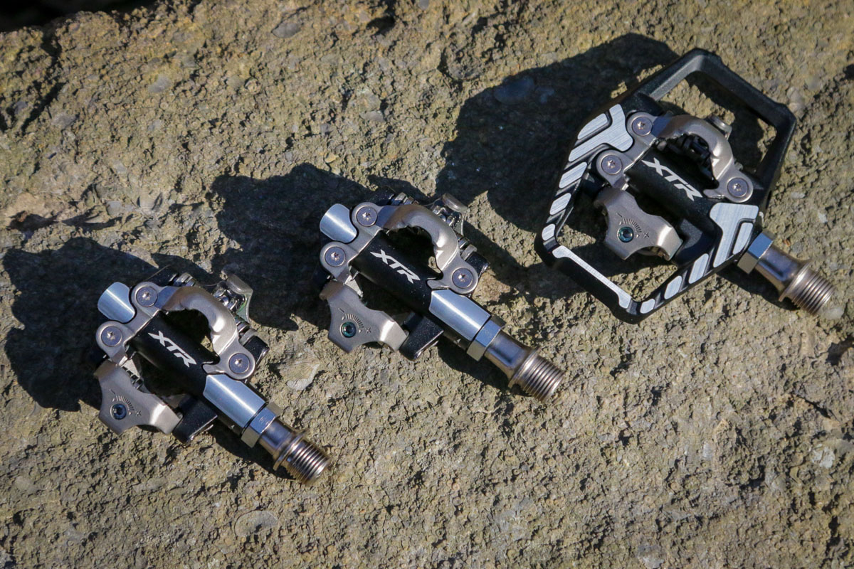 Shimano XTR Short Spindle axle pedals