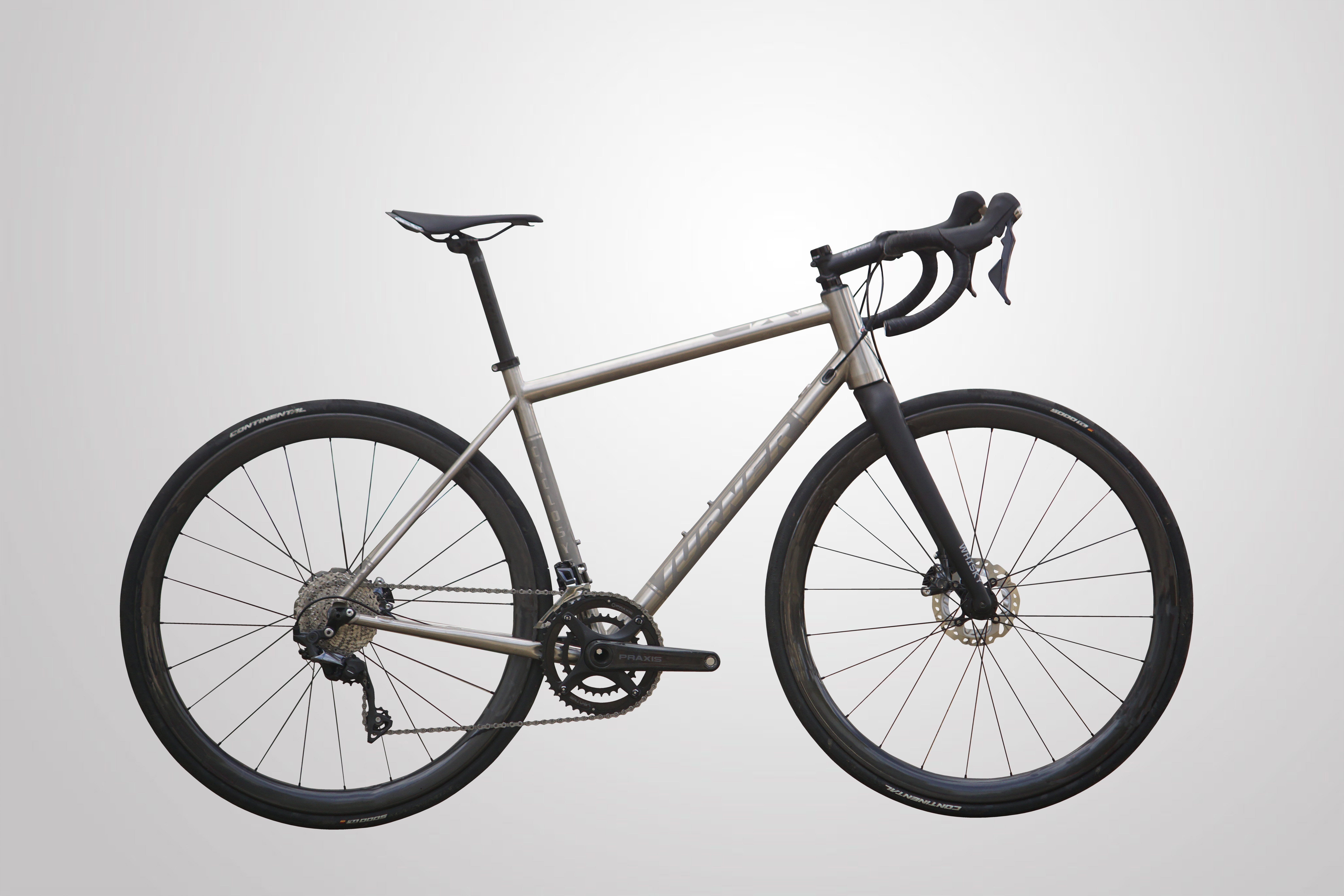 Turner Cyclosys goes titanium with All Road Ti Limited Edition frame