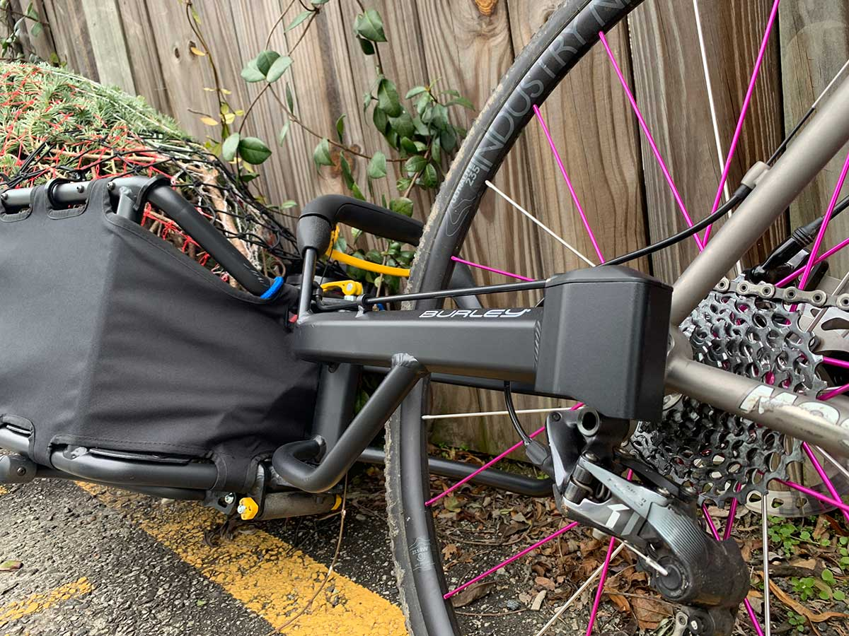 burley coho xc bike trailer review proves its a great bicycle trailer for singletrack and backcountry trails behind your fat bike or mountain bike
