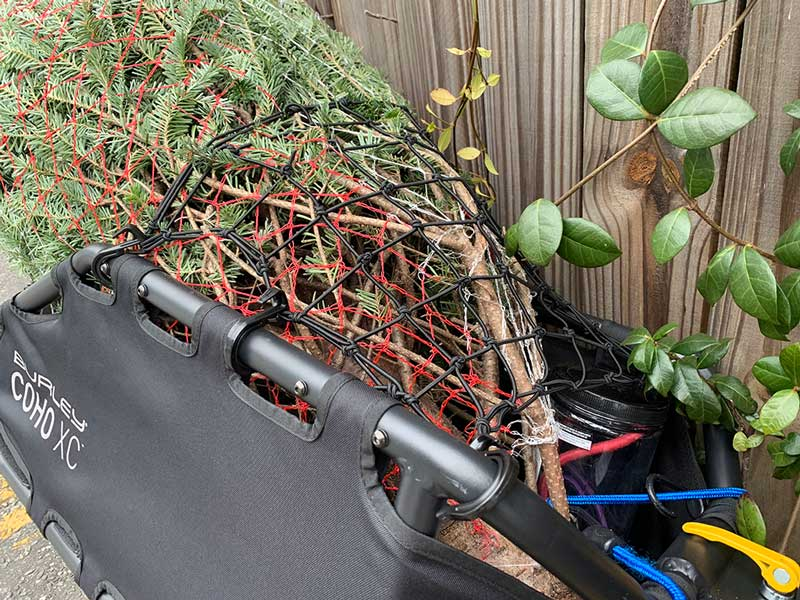 which bicycle trailer will work with a mountain bike for riding on singletrack trails
