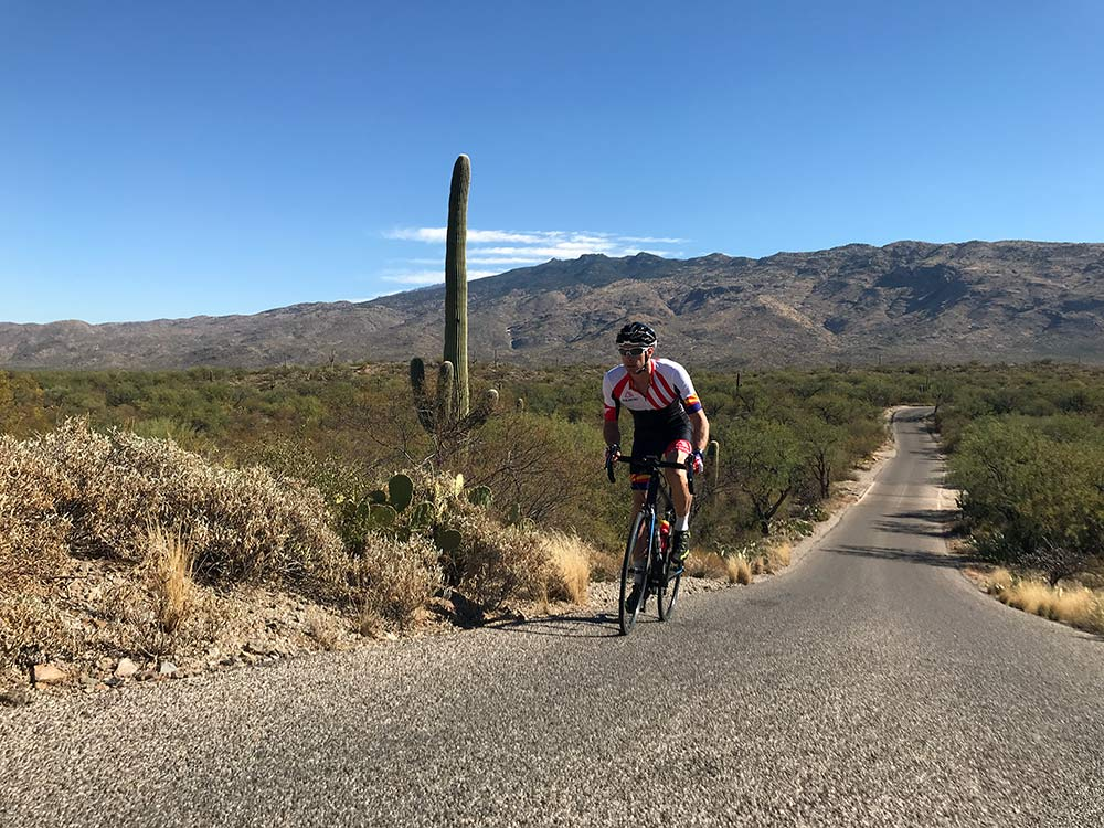 where to ride road bikes in saguaro national park in tucson