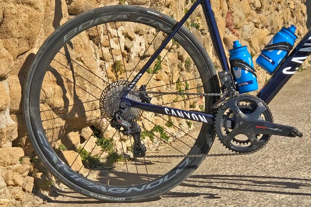 Campagnolo Super Record EPS 12-speed Campy EPS SR 12 Movement 12 road bike groupset gruppo