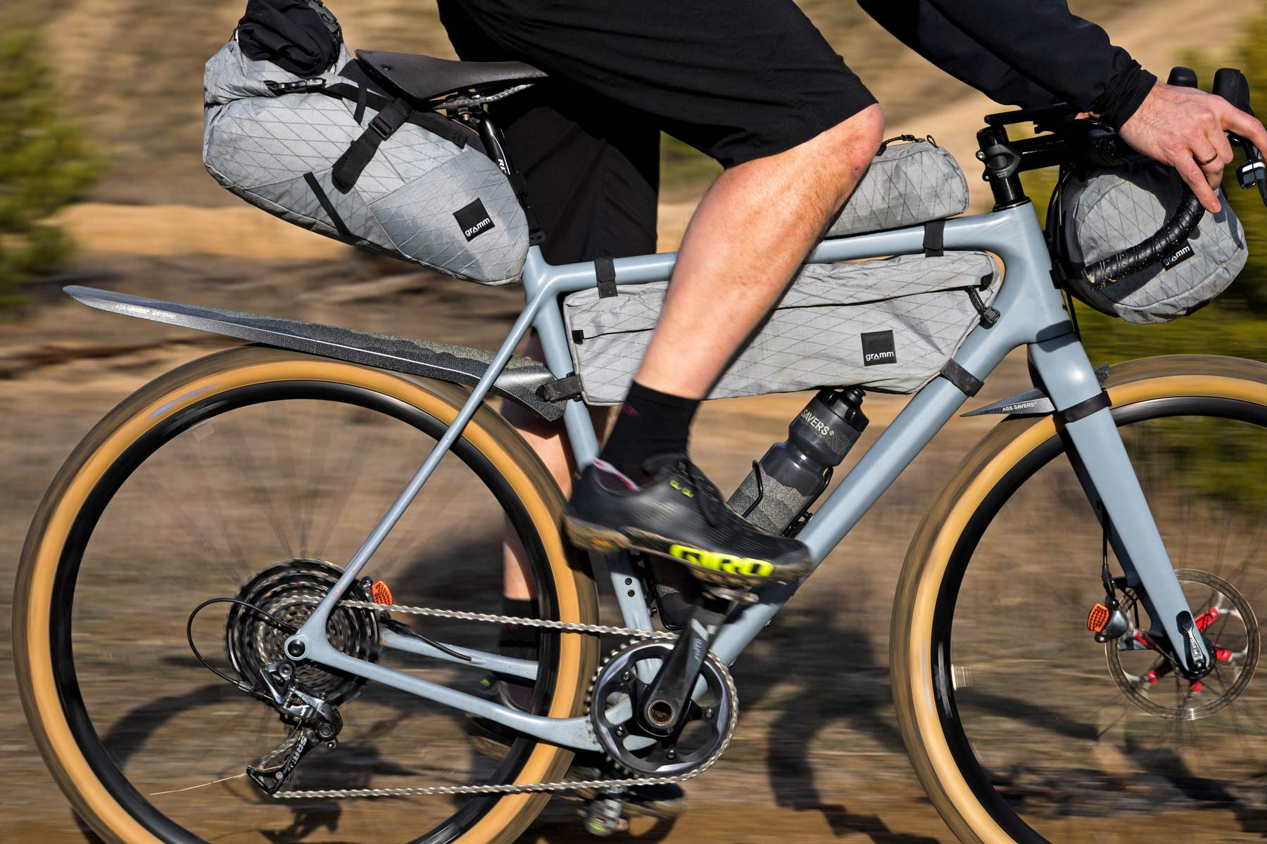 Ass Savers takes a Detour with limited edition bikepacking