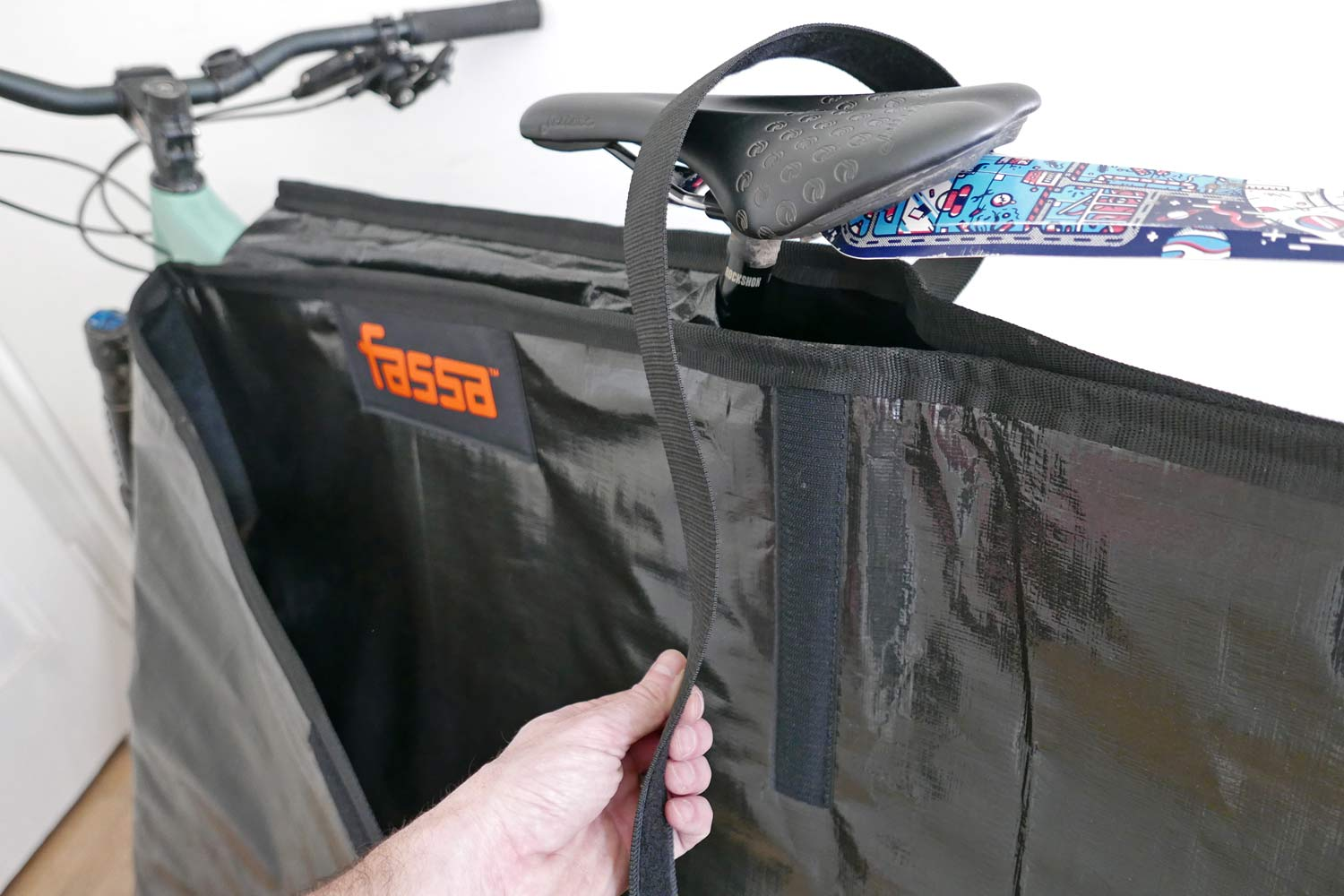 Fassa Defender 2.0 two-sided bike protection pad