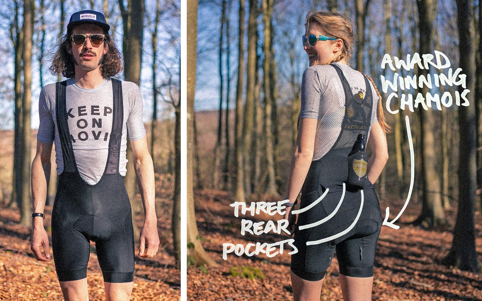Morvelo Morvélo Overland all-road gravel cycling kit on-road & off-road casual performance cycling clothing