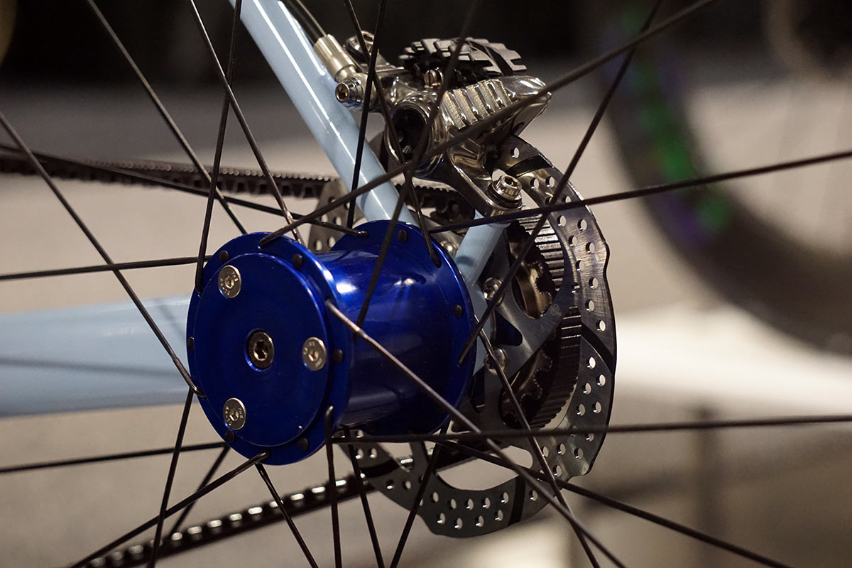 English Cycles Project Right 2019 version with modular wheels