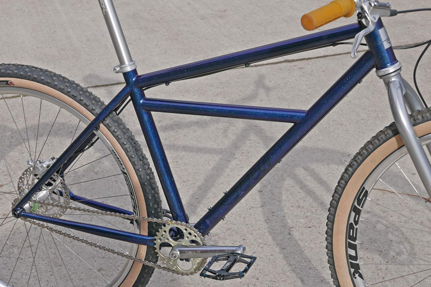 Sour Bicycles solid, affordable production steel off-road bikes Bad Granny