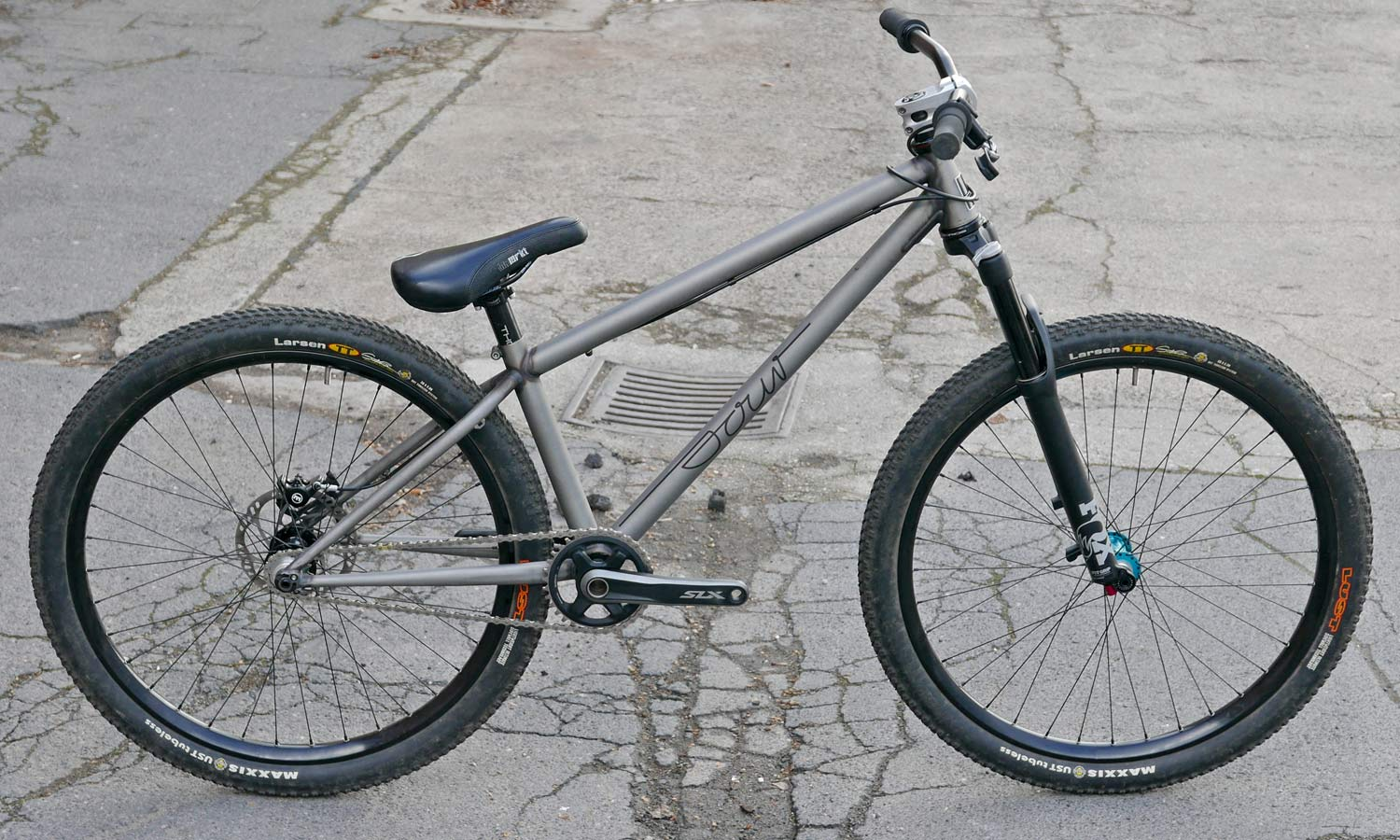 Sour Bicycles solid, affordable production steel off-road bikes Cancan